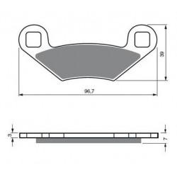 Filtre à Huile pour Scooters Piaggio-Vespa MP3 250 MIC LT de 2006 à 2010