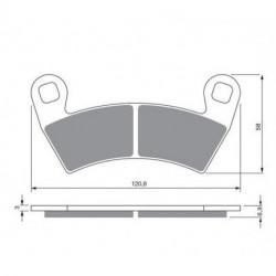 Ampoule phare pour Quads Kawasaki KVF 400 Prairie de 1997 à 2002