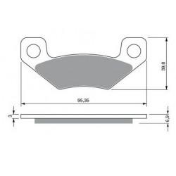 Ampoule phare pour Quads Yamaha Grizzly 125 YFM de 2004 à 2012