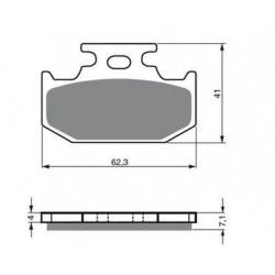 Ampoule phare pour Quads Yamaha YFZR 450 R de 2009 à 2015