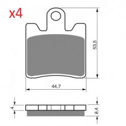 2 Ampoules phare pour Quads Yamaha YFZR 450 R X de 2009 à 2015