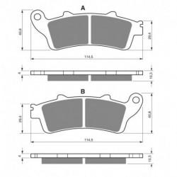 Ampoule phare bleu pour Quads Kawasaki KAF 620 Mule de 2000 à 2013