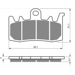 2 Ampoules phare bleu pour Quads Yamaha YFZR 450 R de 2009 à 2015