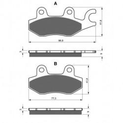 Pochette de joint moteur complet pour Motos Honda CRF 250 X de 2004 à 2013