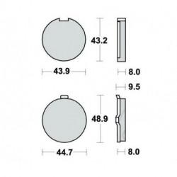 Kit Cylindre piston pour Quads Kawasaki KFX 80 de 2003 à 2006