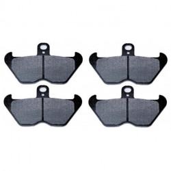 10 Paires de Plaquettes de frein Avant Pour Ktm EXC 520 Racing de 2000 à 2002