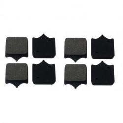 Paire de Plaquettes de frein Avant Droit Pour Moto-guzzi Florida 650  de 1986 à 1992