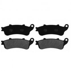 Paire de Plaquettes de frein Avant Pour Moto-guzzi NTX 350  de 1988 à 1990