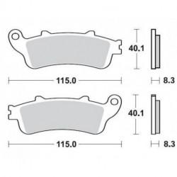 Paires de Plaquettes de frein Avant Pour Ktm LC4 640 de 1998 à 1999