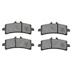 Paire de Plaquettes de frein Avant Pour Kawasaki KSR 80 II de 1990 à 2002