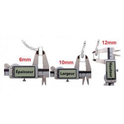 kit réparation démarreur balais pour Quads Yamaha Grizzly 400 YFM de 2007 à 2008