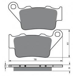 Paires de Plaquettes de frein Avant Pour Honda XL 700 Transalp de 2008 à 2013