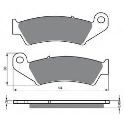 Paires de Plaquettes de frein Avant Pour Mbk Nitro 50 YQ de 1997 à 2010