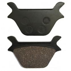 Paires de Plaquettes de frein Avant Pour Keeway TX 50 S Cast wheel de 2010 à Nc